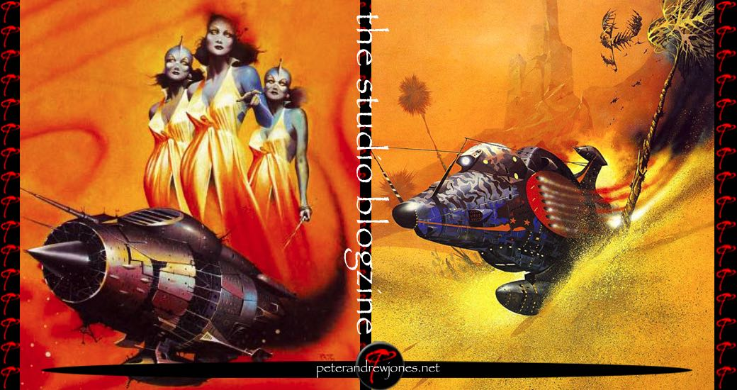 Peter Andrew Jones Science Fiction and Fantasy Art Blog