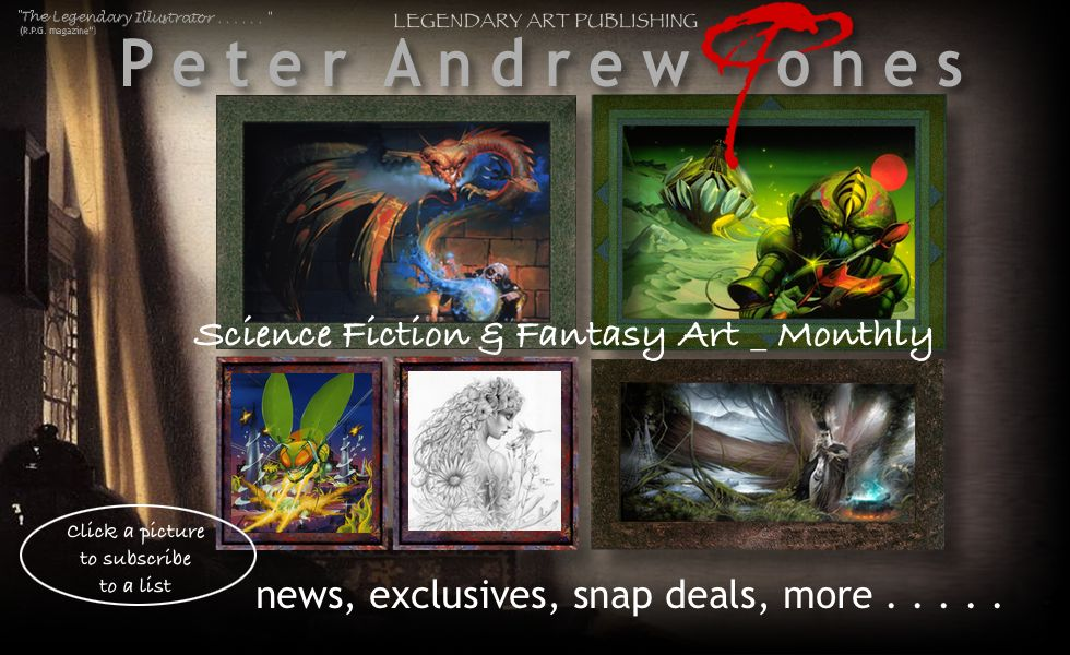 Peter Andrew Jones newsletters