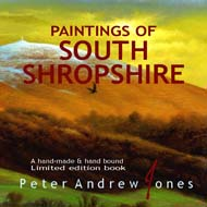 Paintings of South Shropshire Book Peter Andrew Jones